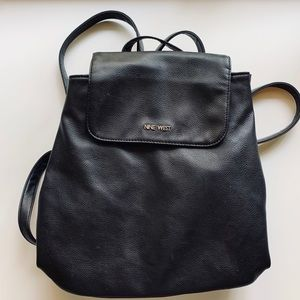 Black Nine West Backpack